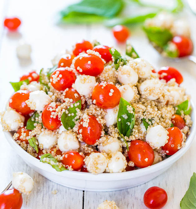 σαλάτα με τοματίνια